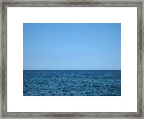 Rhapsody In Blue Framed Print