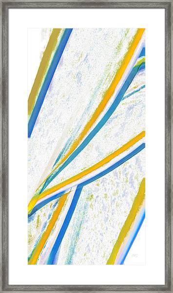 Rhapsody In Leaves No 1 Framed Print