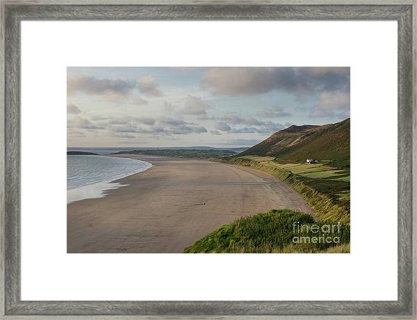 Rhossili Bay, South Wales Framed Print