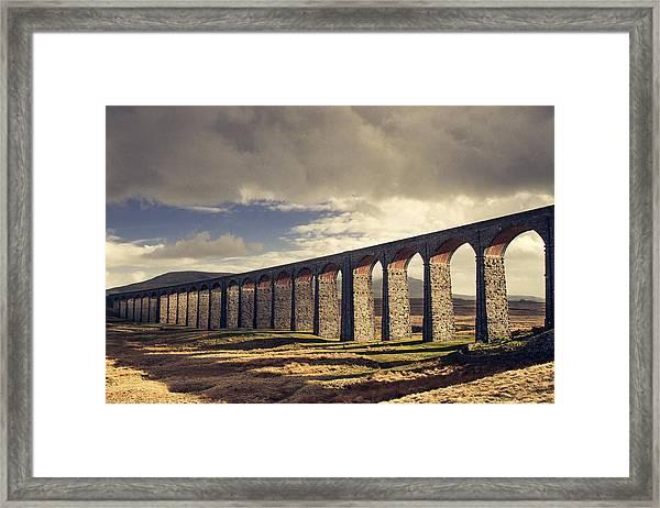 Ribblehead Framed Print by Chris Dale