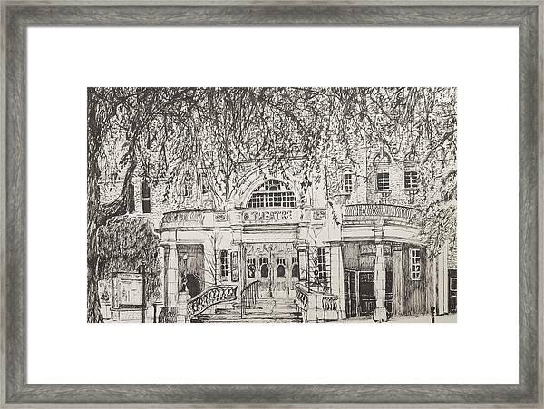 Richmond Theatre London Framed Print