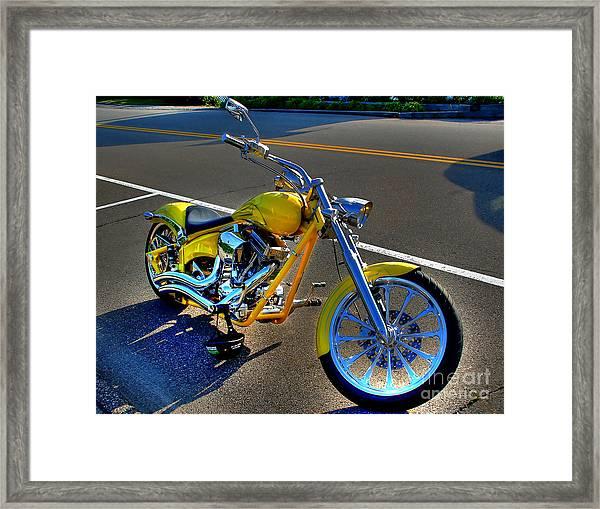 Ride Hard... Framed Print