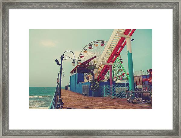 Ride It Out Framed Print