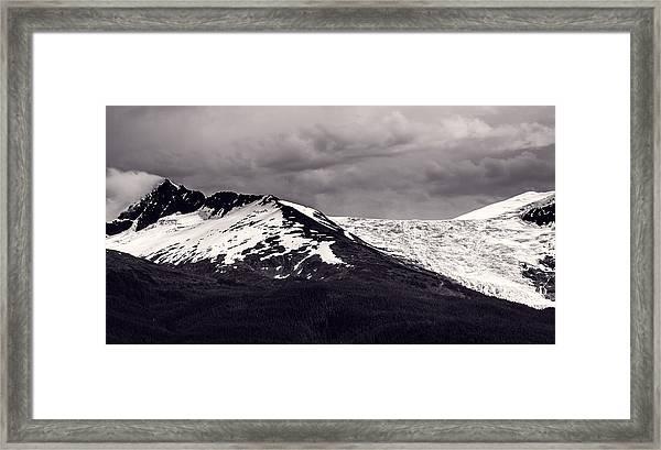 Ridgeline Framed Print