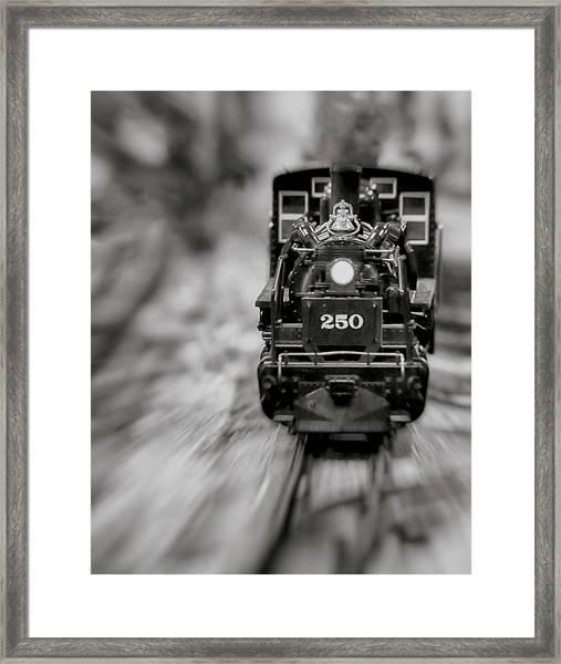 Riding The Railways Framed Print
