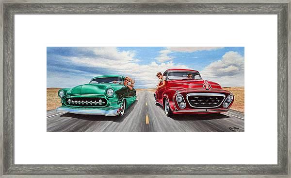 Riff Raff Race 4 Framed Print