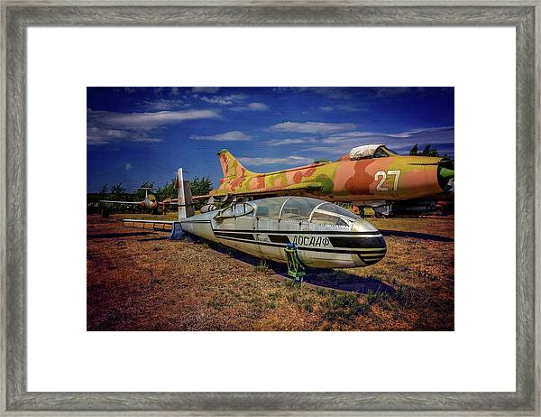 Riga Aviation Museum Framed Print