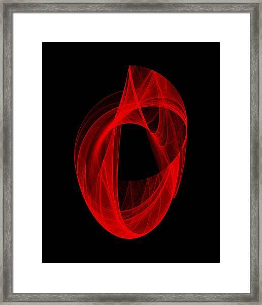 Ring Unraveling I Framed Print