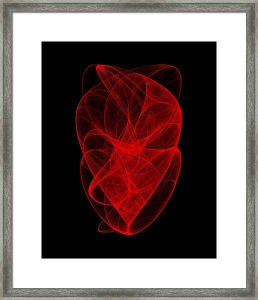 Ringing Wave I Framed Print