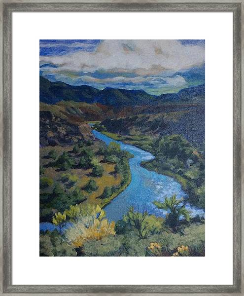 Rio Chama Framed Print