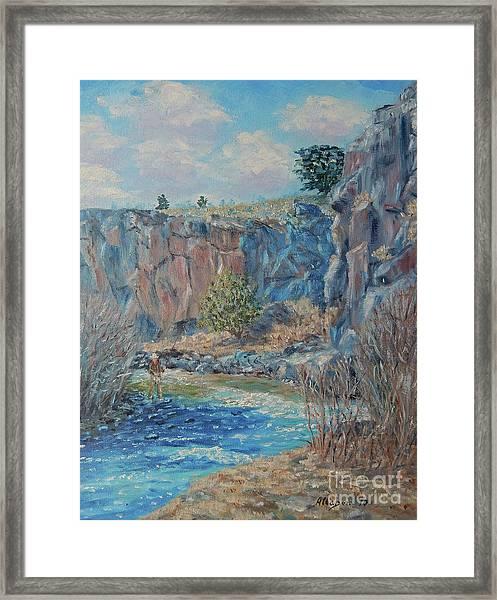 Rio Hondo Framed Print