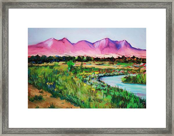 Rio On Country Club Framed Print