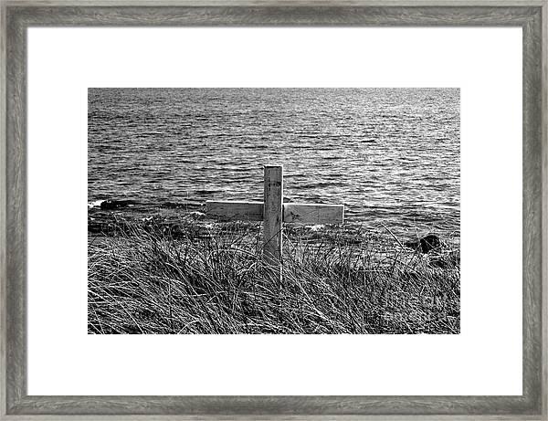 RIP Framed Print by Samantha  Backhaus