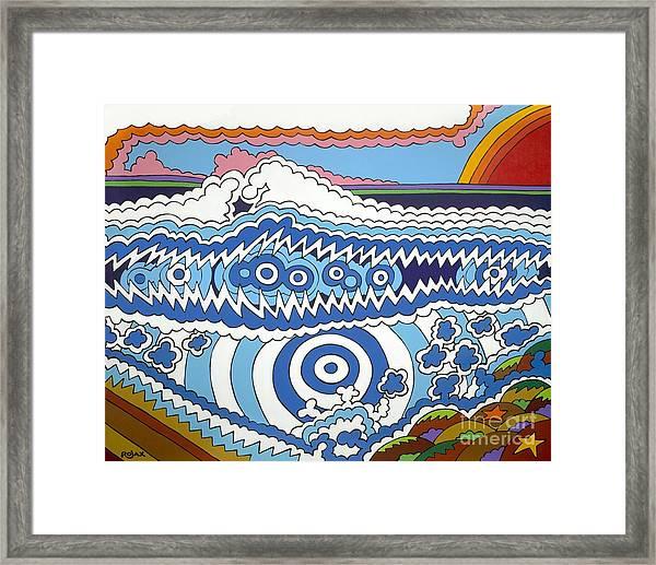 Rip Tide Framed Print