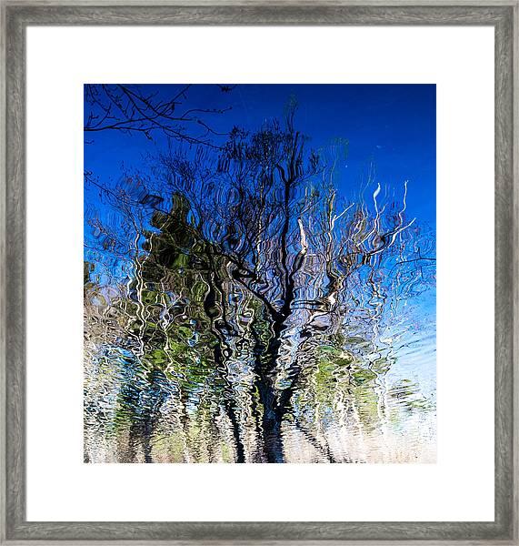 Rippled Reflection Framed Print