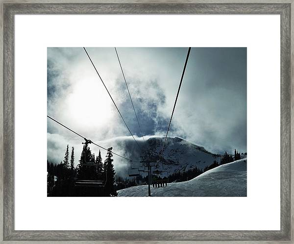 Rise To The Sun Framed Print