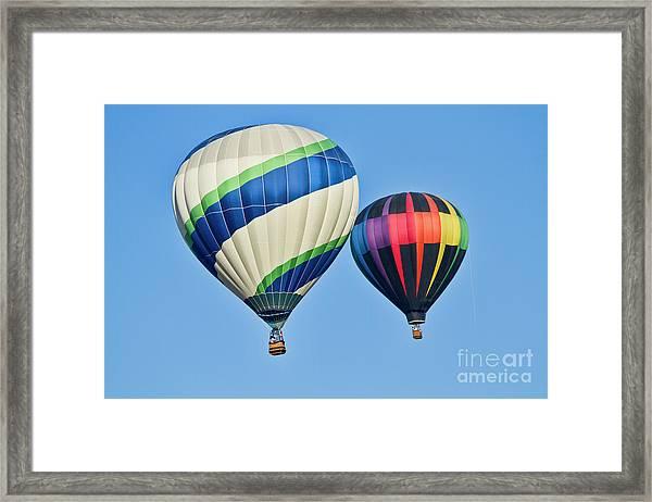 Rising High Framed Print