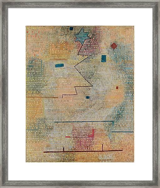 Rising Star  Framed Print
