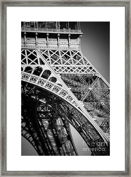 Rising Steel Framed Print