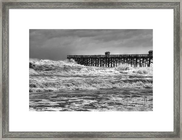 Rising Tide Framed Print by Rick Mann