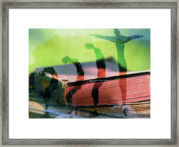 Risingform Framed Print