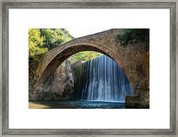 River Bridge Framed Print by Nikos Stavrakas