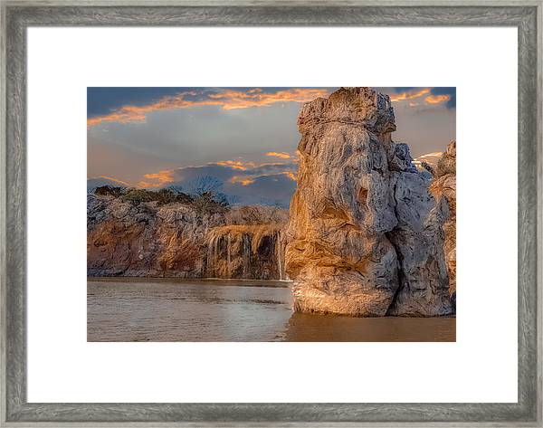 River Cruise Framed Print