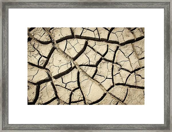 River Mud Framed Print