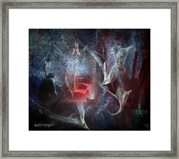 River Of Deceit Framed Print