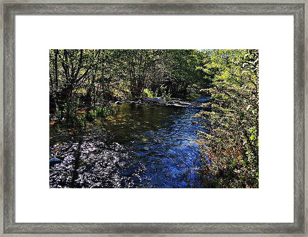 River Of Peace Framed Print