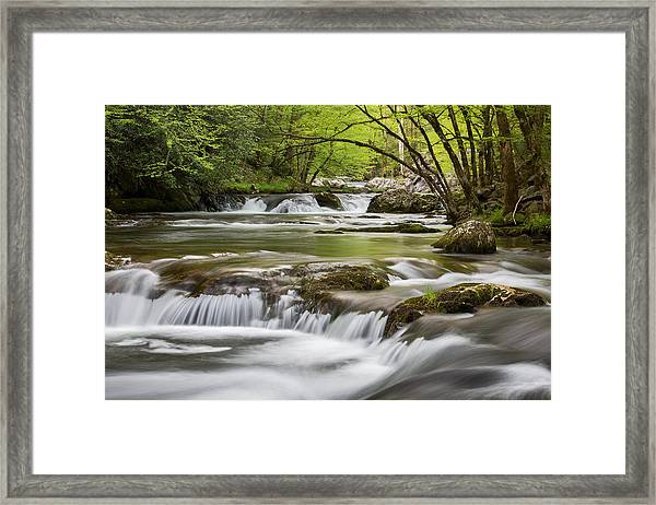 River Peace Framed Print