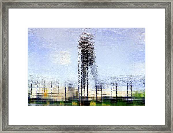 River Reflections Framed Print