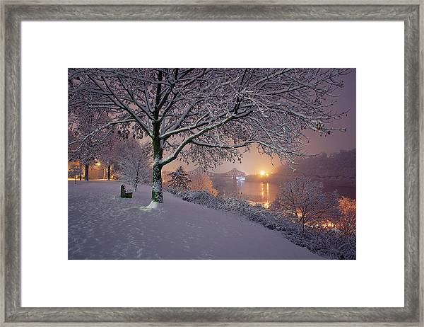 River Road  Framed Print