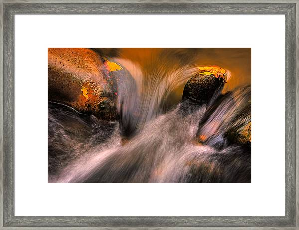 River Rocks, Zion National Park Framed Print