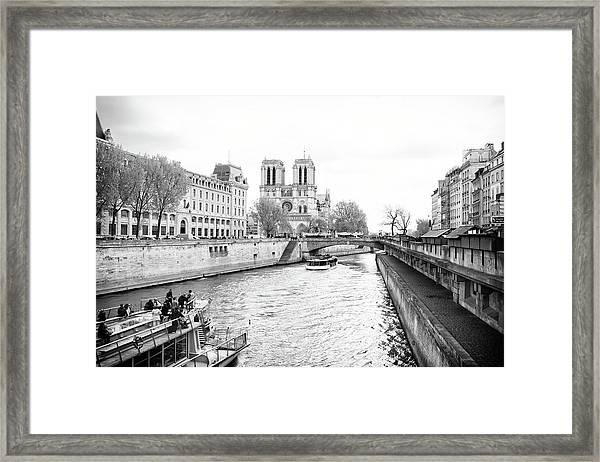 River Seine, Paris Framed Print
