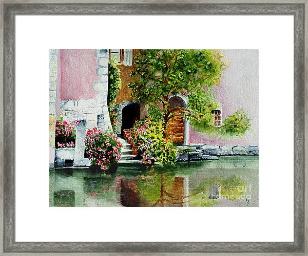 Riverfront Property Framed Print