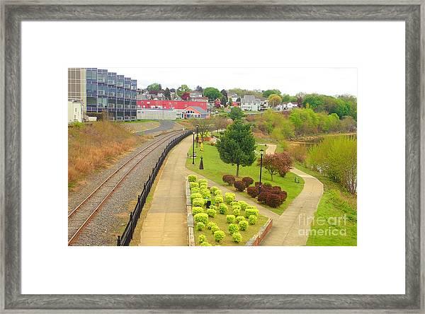 Rivers Edge Living   Framed Print