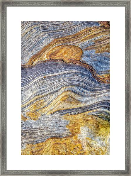 Rivers Of Stone Framed Print