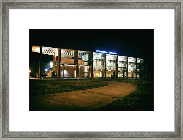 Riverside Theatre Complex Framed Print