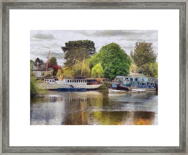 Riverview Vii Framed Print
