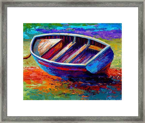 Riviera Boat IIi Framed Print