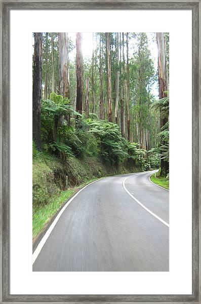 Road 2 Framed Print