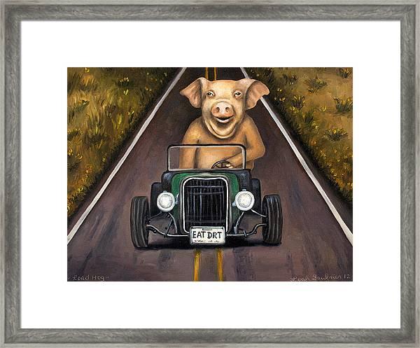 Road Hog Framed Print