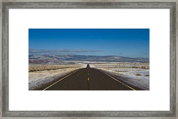 Road Nm 96 Framed Print