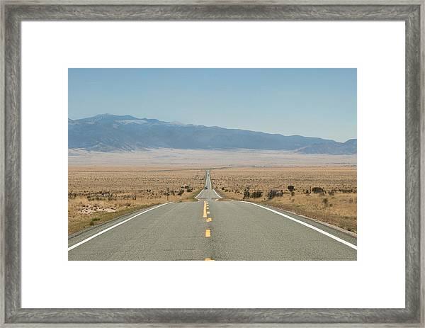 Road Nm Framed Print