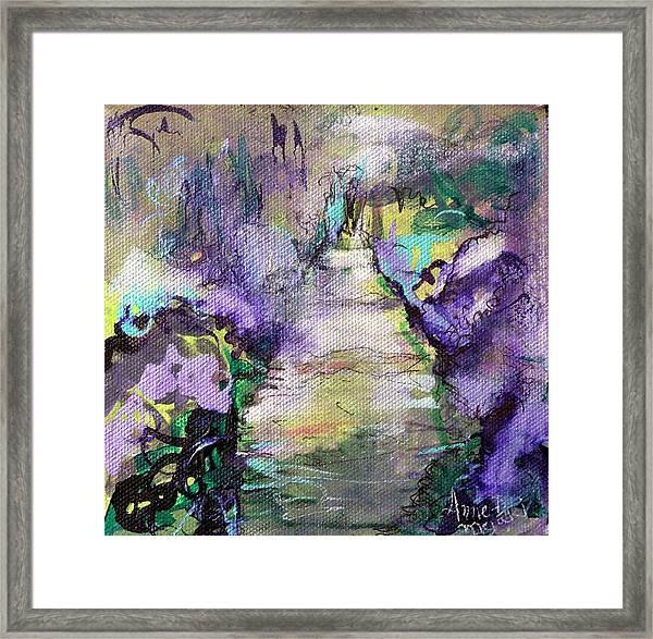 Road To Euphoria Framed Print