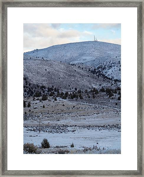 Road To The Top Of The World Framed Print