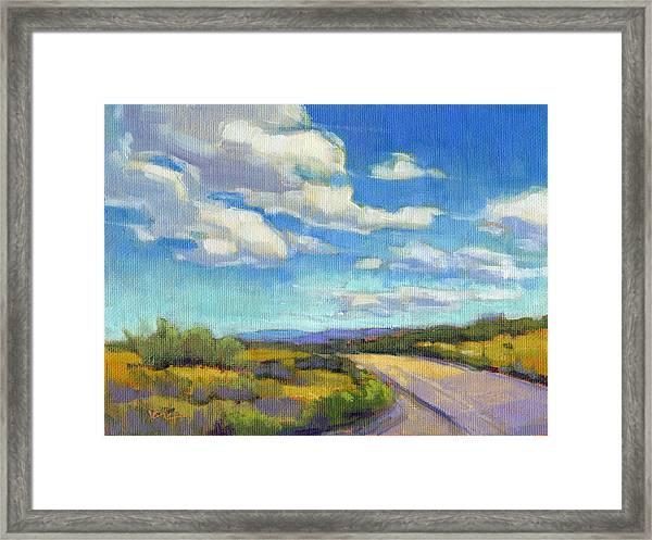 Road Trip - Study Framed Print