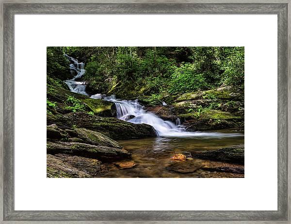 Roaring Fork Waterfall Framed Print