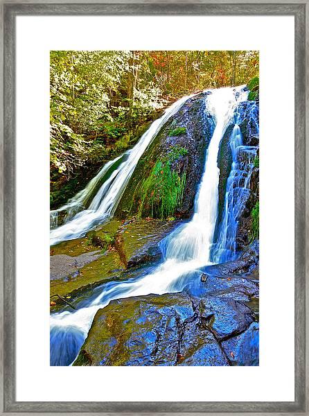 Roaring Run Falls State Park Virginia Framed Print